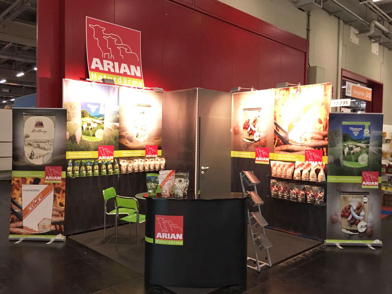ARIAN Messe Evenord Nürnberg 2017